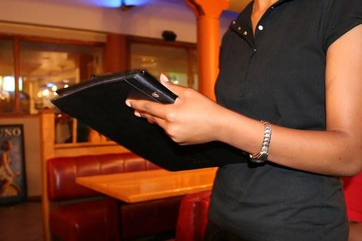 serveur serveuse restaurant extras