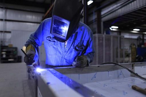 soudeur tig sur aluminium